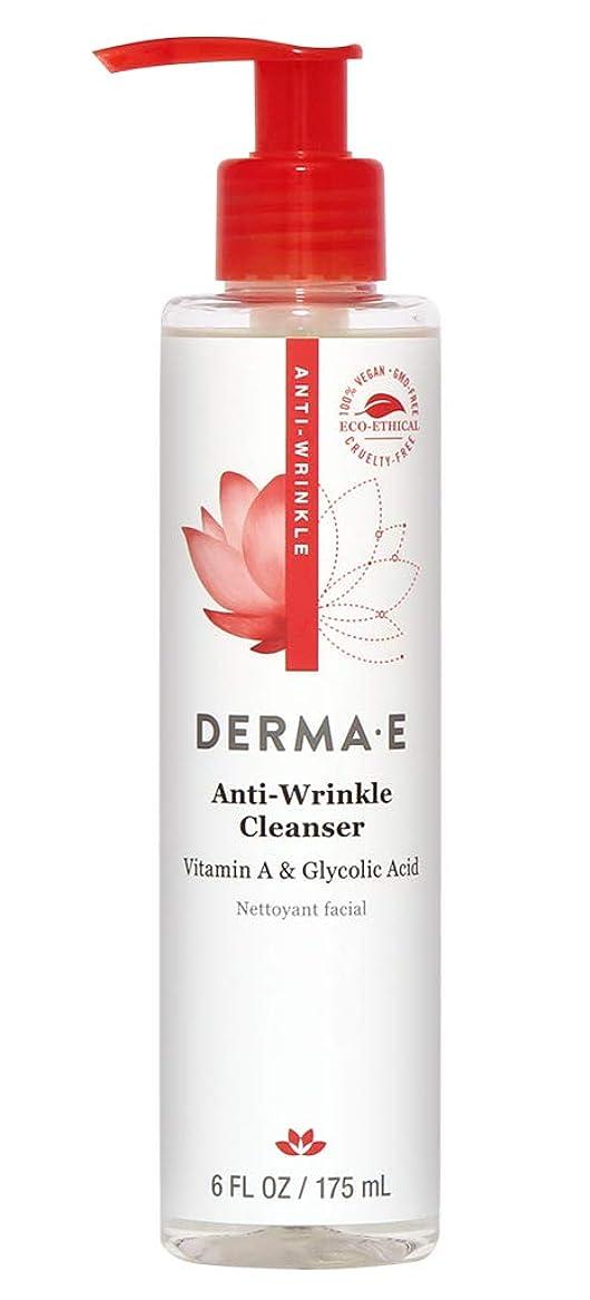 ウッズダンスケント海外直送品Vitamin A Glycolic Cleanser, 6 oz by Derma e
