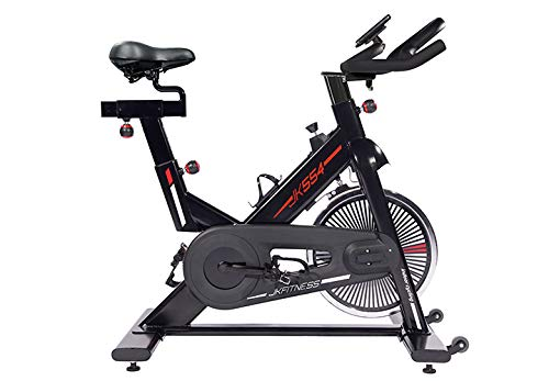 JK Fitness JK 554 indoor bike - volano 22 kg - trasmissione a cinghia