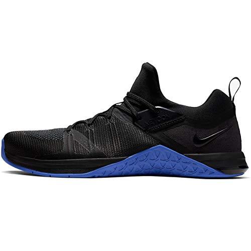 Nike Metcon Flyknit 3, Scarpe da Fitness Uomo, Multicolore (Black/Game Royal/Orange Peel 3), 44.5 EU