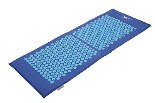 Kit d'acupression XL Fitem - Tapis d'Acupression + Coussin + Boule de Massage - Soulage douleurs Dos et Cou - Sciatique - Massage dos - Relaxation Musculaire - Acupuncture - Récupération post-sport