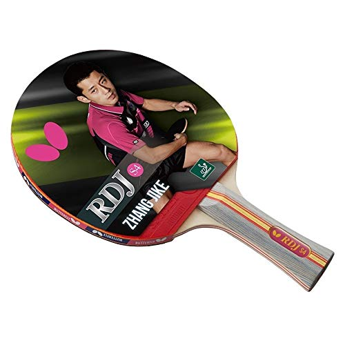 Great Features Of Rdj S4 Table Tennis Racket â?? Ittf Approved Ping Pong Paddle Great Spin Speed an...