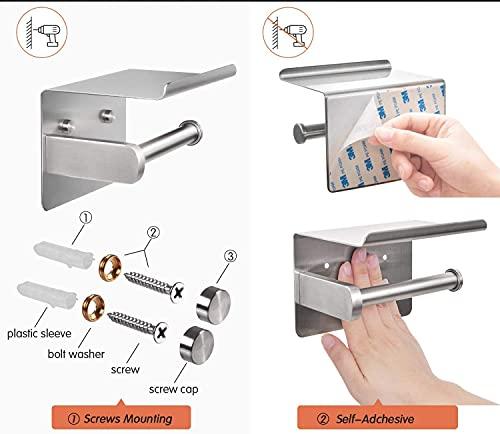 YHYGOO Portarrollos para papel higiénico