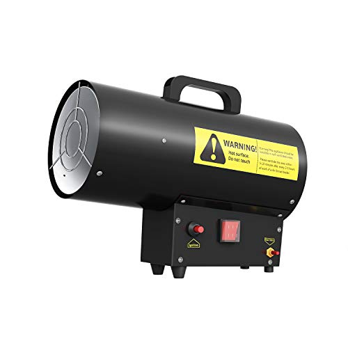 41lhoxEO9NL. SS500  - Famgizmo 10KW Portable Gas Space Heater - Propane LPG Industrial 34,000 BTU Fan Assisted - Indoor Heavy Duty Powerful…