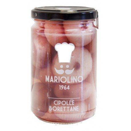 Mariolino - Cipolle Borettane Aceto Rosso - 314 Ml