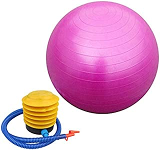 65cm Exercise Fitness Aerobic Ball for GYM Yoga Pilates Pregnancy Birthing Swiss Pink