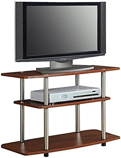 Pemberly Row 3 Tier TV Stand Cherry