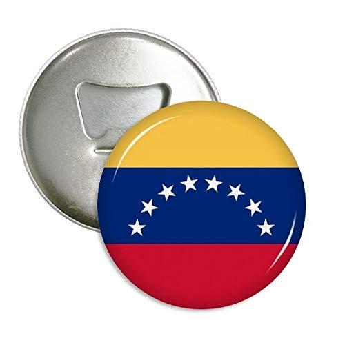 Venezuela National Flagge South America Country r& Flaschenöffner Kühlschrank Magnet Pins Badge Button Geschenk 3