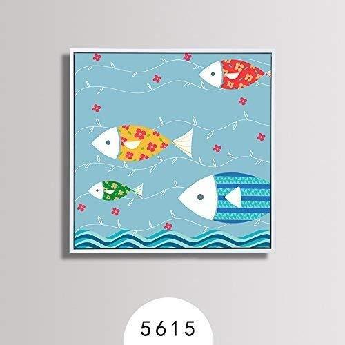 Afbeelding Muurschildering Kamer Hoge Doos Kwaliteit Frame Drie Decoratie Treksterkte Gemakkelijk Noodzaak Mooie Installatie Corrosie Dierenkop