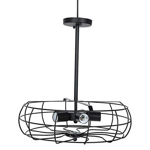 Jingyig Lámpara de Techo, lámpara Colgante de Hierro para Ambiente cálido, Duradera para Habitaciones, lámpara de Techo Industrial, cocinas, Uso en cocinas