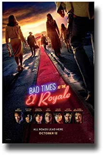 Bad Times at The El Royale Poster Movie Promo 11 x 17 inches All Roads Lead Here