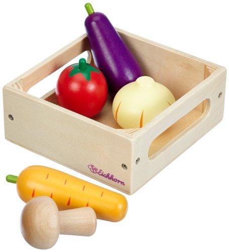 Eichhorn 100003724 - Holzbox mit Gemüse