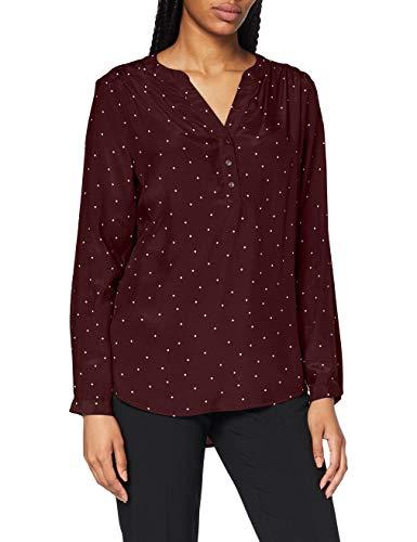 Seidensticker Damen Bluse – Fashion Bluse - Tunikabluse - V-Neck - Regular Fit – Langarm – 100% Viskose