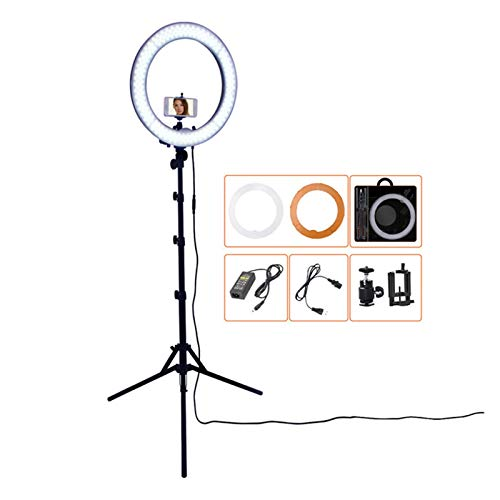 YNLRY LED Ring Light Photography Lamp Selfie Ringlight Led Ring Lamp with Tripod Stand for Makeup Youtube Tiktok