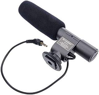 SG-108 Stereo Video Shotgun MIC Microphone for Nikon Canon Camera DV Camcorder