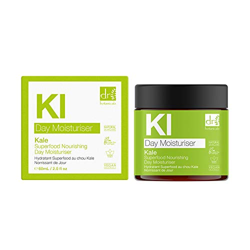 Dr Botanicals Apothecary Kale Superfood Nourishing Day Moisturiser with Vitamins and Antioxidants 60ml Product Name