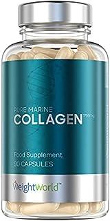 Marint Kollagen Kapslar - 1170mg - 120 kapslar (Räcker i 2 Månader) Rena Marint Hydrolyserad Kollagen Protein Peptider för...
