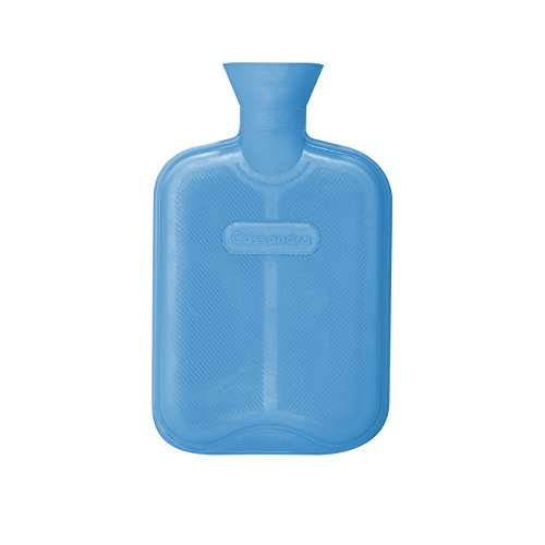 CASSANDRA Hot Water Bottle Ribbed Surface Both Sides 18 Litre 5 Year Cassandra Guarantee Colour Received Varies