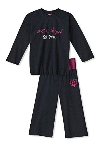 Schiesser Mädchen Schlafanzug lang Angel & Devil (116)