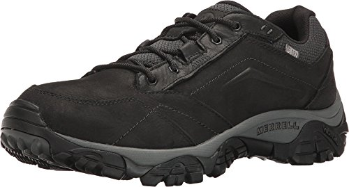 Merrell Men's Moab Adventure Lace Waterproof Hiking Shoe, Black, 10 M US