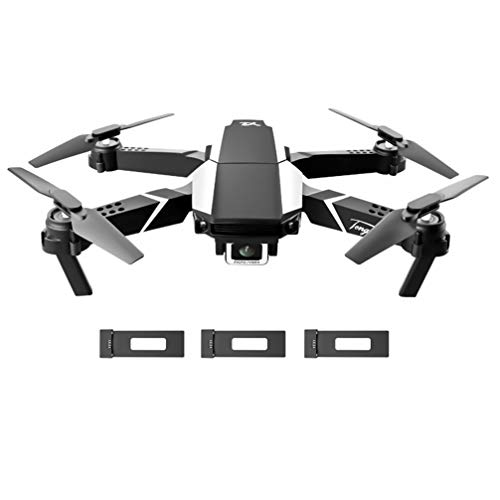 Mobestech Foldable RC Quadcopter with Double 4K Camera RC Drone Quadcopter Toys Fixed Height Headless Mode WiFi Drone for Kids Adults