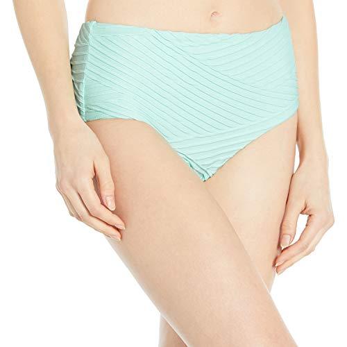 Seafolly Damen Freshwater Mid Rise Pant Bikinihose, Türkis (Fresh Mint Fresh Mint), 38 (Herstellergröße: 12)