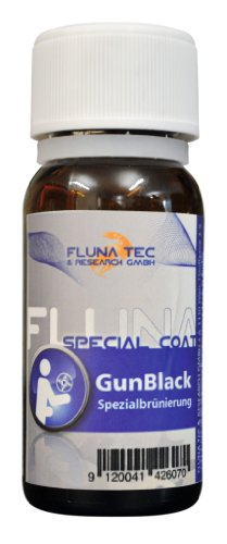 Fluna Tec & Research GmbH Schnell und Kaltbrünierung Waffenpflege, transparent, 50 ml