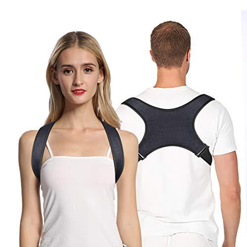Haltungskorrektur, Verstellbare Geradehalter zur Rückentrainer Schulter Rückenstütze Geradehalter Schulter ideal für Nacken, Rücken und Schulterschmerzen für Kind und Frau