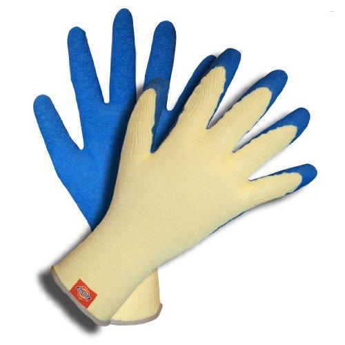 Dickies D38541 Jaune de gant en polycoton avec revêtement en latex Bleu Crinkle par Dickies