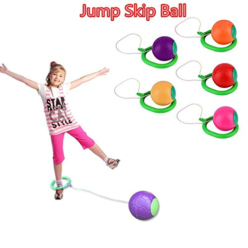 Yamalans Skip Ball Children Exercise Coordination Balance Hoop Jump Playground Toy