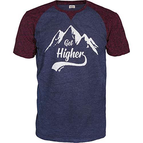 Alprausch Herren Schorsch T-Shirt, Dark Navy Melange, XL