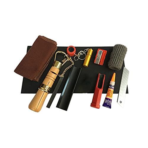 11 PCS SNOOKER CUE TIP TIP SUGERENCIA PINTURA Herramienta Kit de herramientas...