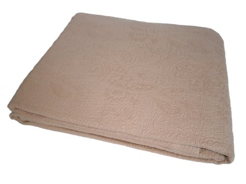 Find Bargain Belle Epoque Enchantment Queen Coverlet, Toffee