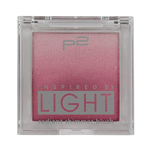 p2 cosmetics Make-up Teint Rouge Inspired by Light - radiant shimmer blush 020