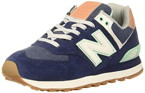 New Balance Damen 574 Sneaker, Natural Indigo, 41.5 EU