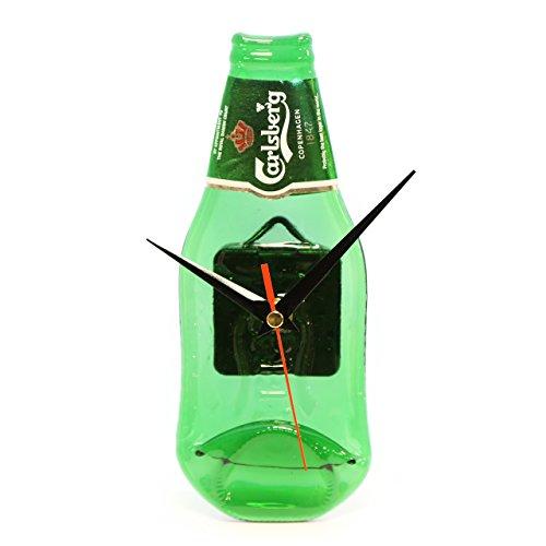 Carlsberg Bier Echter Flasche Wand Uhr