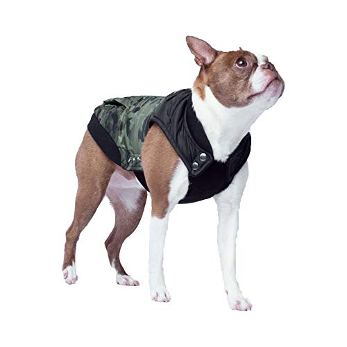 Canada Pooch Cp01272 Summit Stretch Vest Groen/Camouflage Maat 12