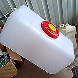 WWJQ Tanque de Agua Almacenamiento De Agua para Aire Libre Hogar, Depósito de Agua del Tanque de Gran Capacidad Ahorro de Espacio, para Barbacoa Caza Senderismo, sin BPA