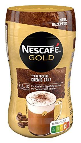 NESCAFÉ GOLD Typ Cappuccino Cremig Zart, Getränkepulver aus löslichem Bohnenkaffee, koffeinhaltig, 1er Pack (1 x 250g)