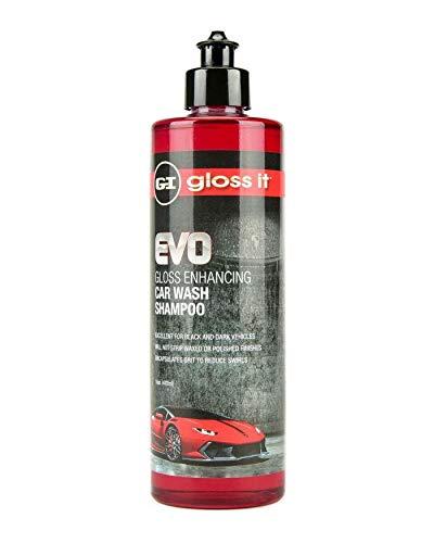 Gloss Enhancing Car Wash Shampoo | Car Detailing Car Wash Soap | Use Foam Cannon Foam Gun 5 Gallon Bucket Pressure Washer Sponge Mop Mitt Brush | Safe On Car Wax & Ceramic Coating (16oz)