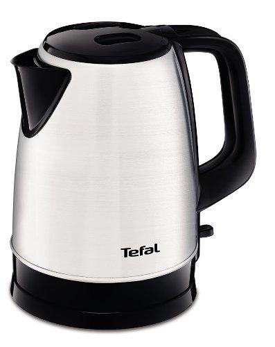 Tefal KI150D waterkoker (1,7 liter, 2400 watt, draadloos) roestvrij staal/zwart