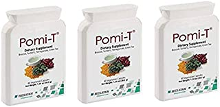 Pomi-T Polyphenol Food Supplement 60 Capsules (Pack of 3) by PomiT