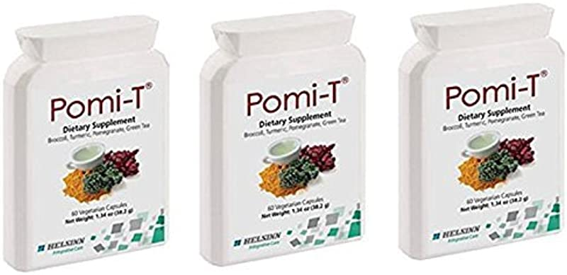 Pomi T Polyphenol Food Supplement 60 Capsules Pack Of 3 By PomiT