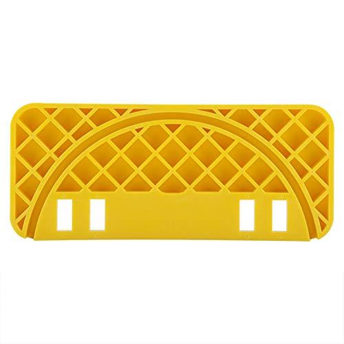 Estante para raspador de miel, Wilecolly ABS Tipo de miel Apicultor Equipo plano Herramienta raspador de colmena