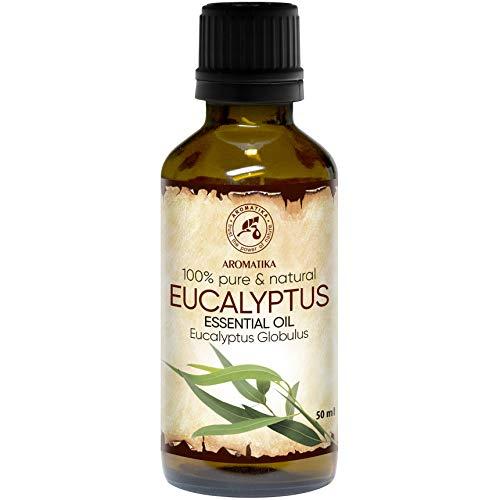 Aceite Esencial de Eucalipto 50ml - Eucalyptus Globulus - 100% Puro y