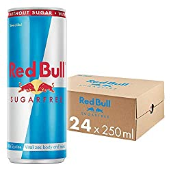 Red Bull Sugarfree (8.4 oz) Nutrition Facts