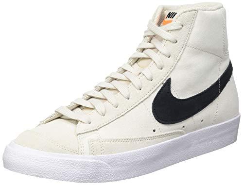 Nike Blazer Mid 77 Suede  Zapatillas de bsquetbol Hombre  Lt Orewood Brn Black White  44 EU