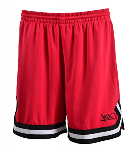 K1X wmns hardwood ladies double x shorts rot/schwarz