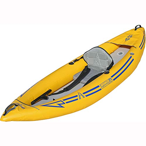 ADVANCED ELEMENTS Attack Whitewater PRO Inflatable Kayak, Yellow, 9'6""