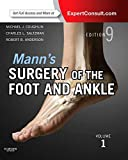 Mann's Surgery of the Foot and Ankle, 2-Volume Set: Expert Consult: Online and Print - Michael J. Coughlin MD