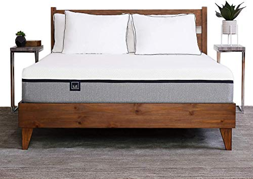 The Lull Mattress - King Size - 3 Layers of Premium Memory Foam for Therapeutic Support